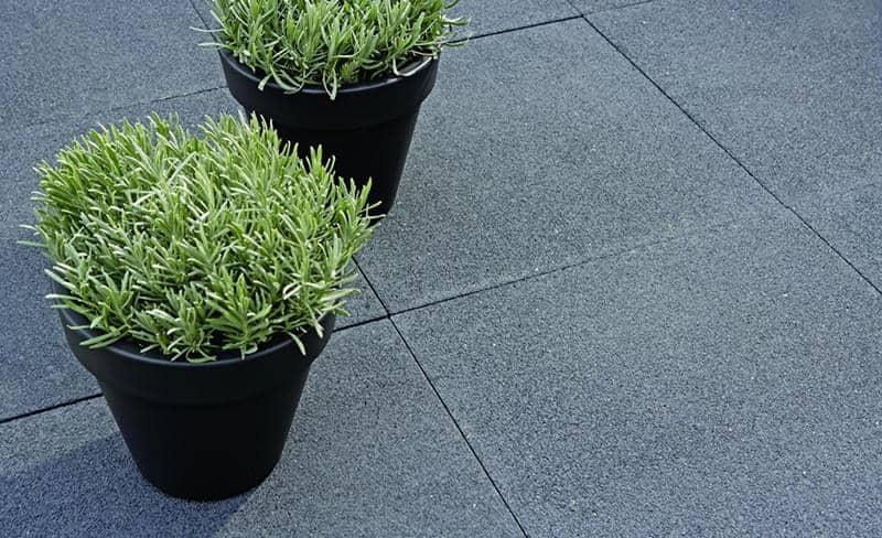 Antraciet Tegels 60x60 : Betontegels terras tegel nero 60x60
