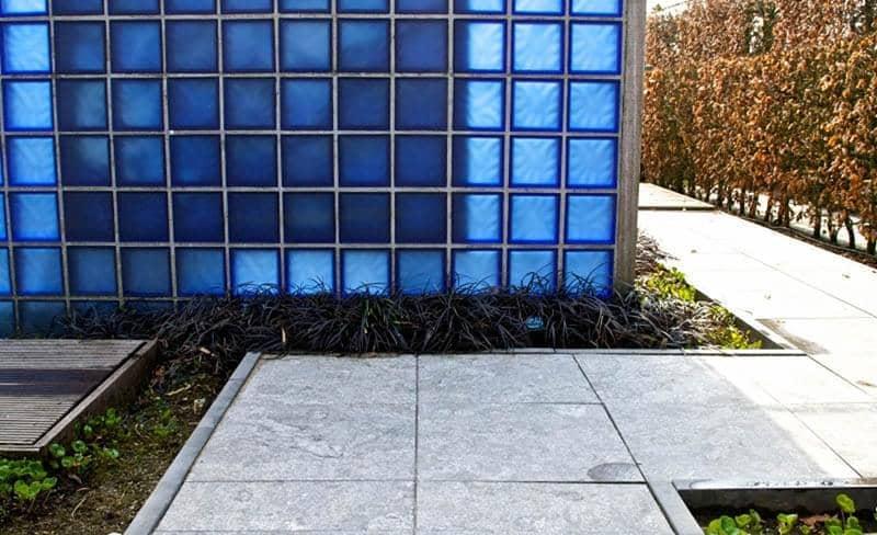 Rode Tegels 50x50 : Hardsteen tegels siam bluestone gevlamd en geborsteld tegels